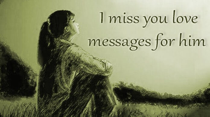 I Miss you Love Messages for Him