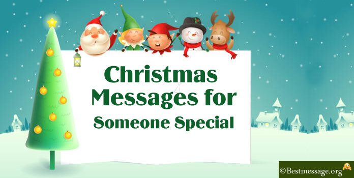 Christmas messages for someone special