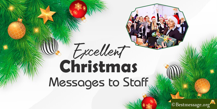 Staff Christmas Messages