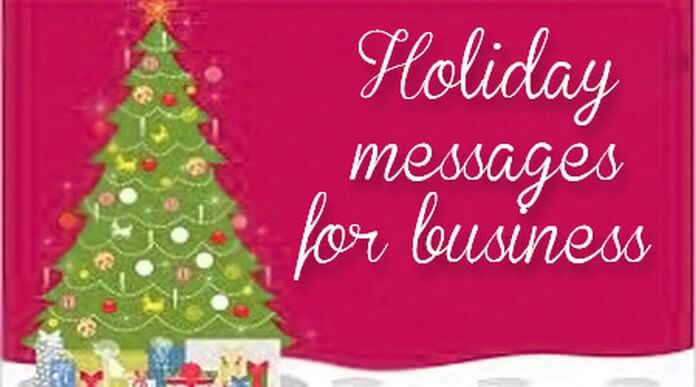 business holiday wishes messages holiday cards for business - Business Holiday Card Messages