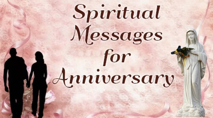 Spiritual Messages for Anniversary