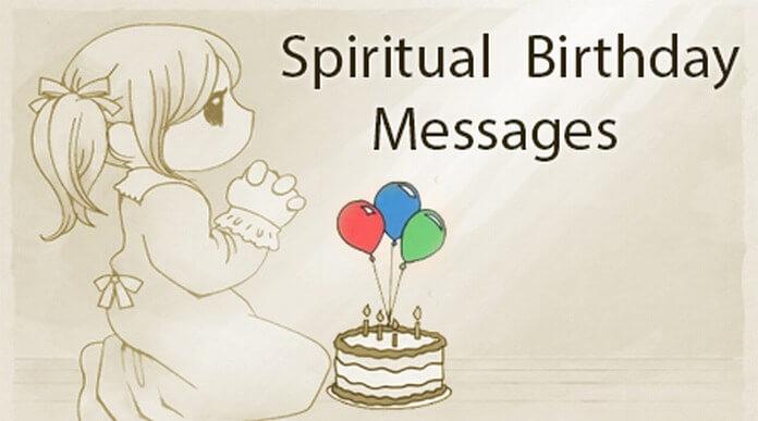 Spiritual Birthday Messages