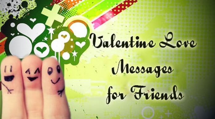 Valentines Day love Messages For Friends