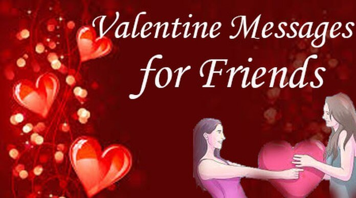 Valentines day Messages for Friends - Valentine Day quotes wishes Image