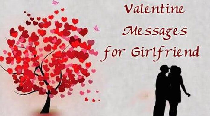 Valentine Messages for Girlfriend - Valentine Love Wishes Messages