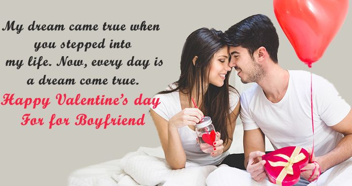 Happy Valentines Day Wishes for New Boyfriend - valentine day Image greetings