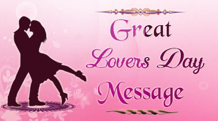 Great Lovers Day Message