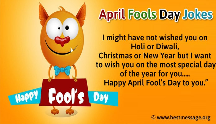 April Fool Day Jokes Message - Funny Pranks Jokes Image