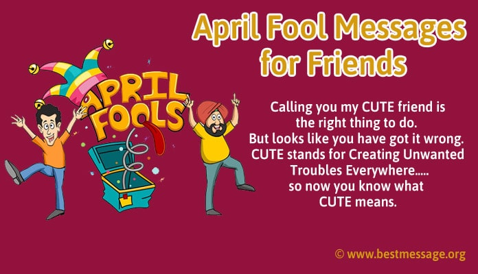 April fool text messages for friends - April fool Images, Photo
