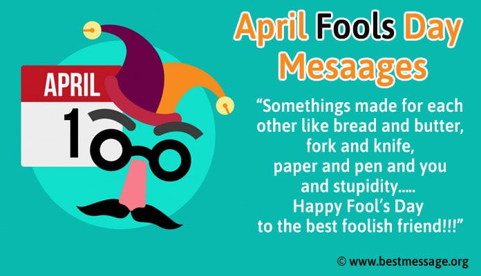 April Fools Day Messages - April fool Text Pranks Images