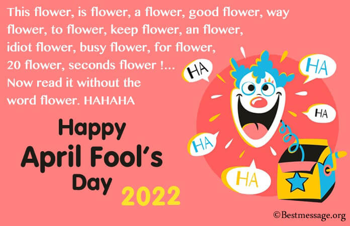 Funny April Fool Messages, April Fools Day Wishes 2021