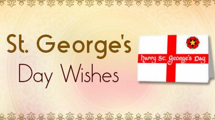 St. George's Day Wishes message