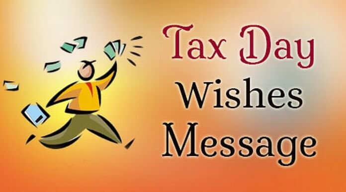 Tax Day Wishes Message