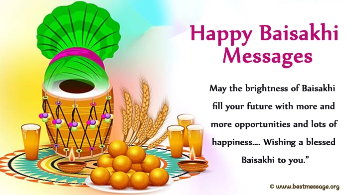 Happy Baisakhi Messages Images, Photo, Pics