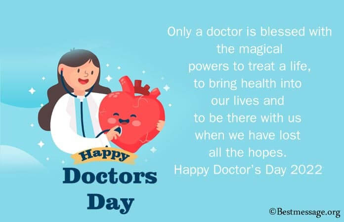 Doctor's Day Wishes Messages, Doctor Quotes Image