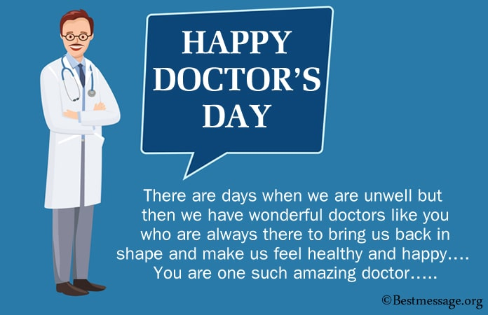 Thank You Doctors Day Messages, doctors day wishes