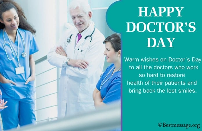 Happy Doctors Day Messages 2021 Image