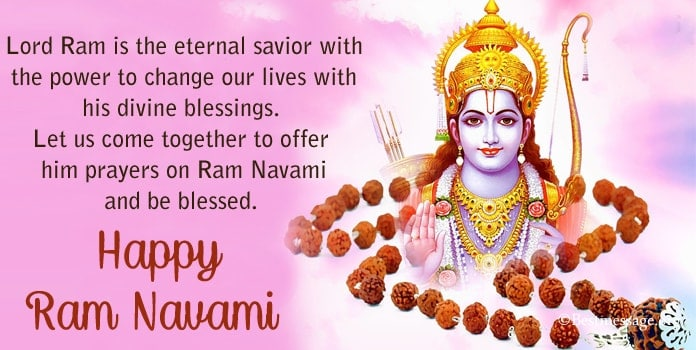 Happy Ram Navami Messages Image, Ram Navami Wishes