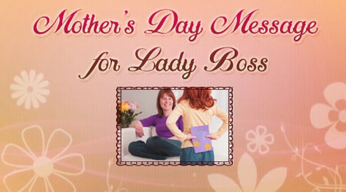 Mothers day message for lady boss happy mothers day wishes boss mothers day message for lady boss m4hsunfo