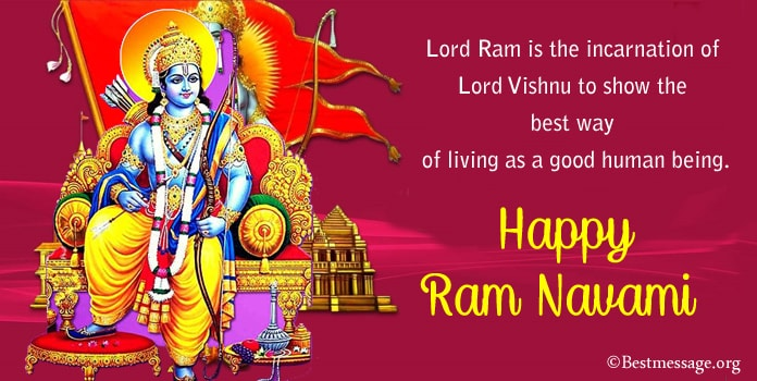 Rama Navami Quotes, Ram Navami Messages, wishes greetings