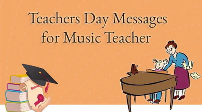 teachers day message music teacher