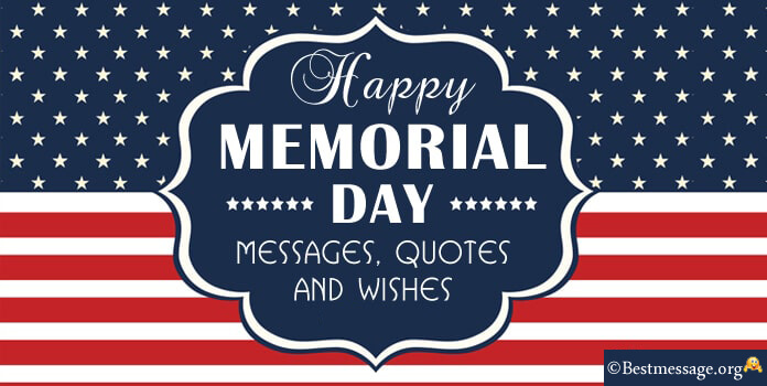 Happy Memorial Day Wishes - Memorial Day Messages Image