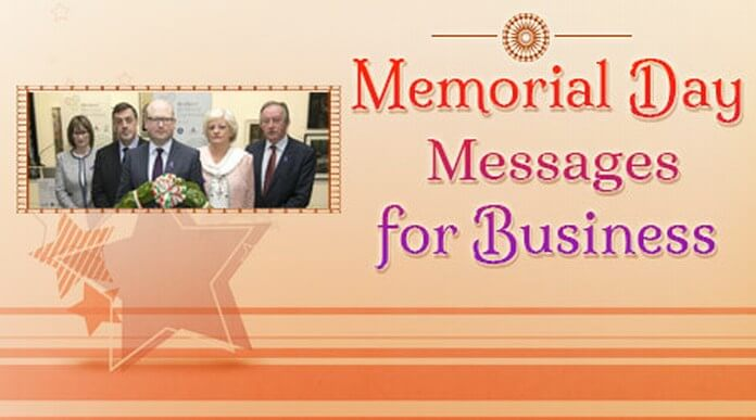 Business Memorial Day Messages