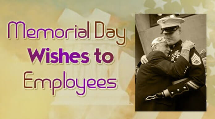 Employees Memorial Day Wishes message