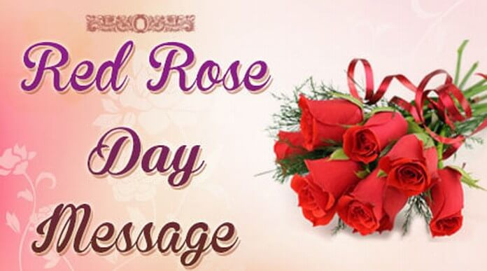 Best Red Rose Day Message