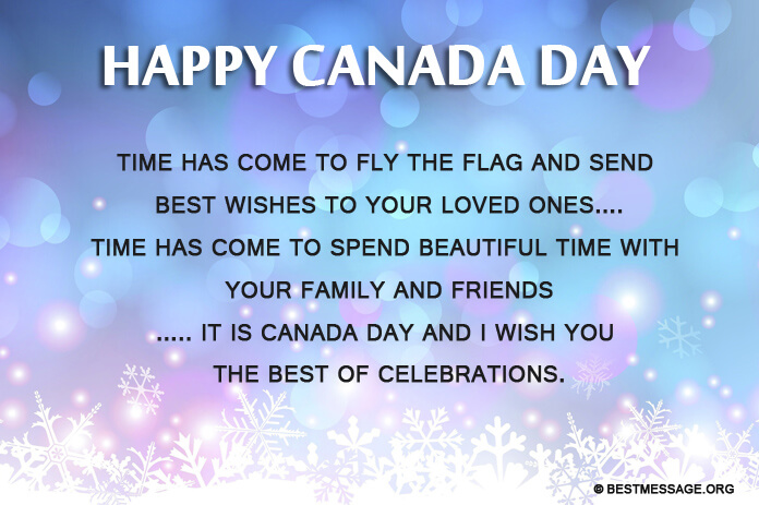 Happy Canada Day Greeting Images Messages to Employees