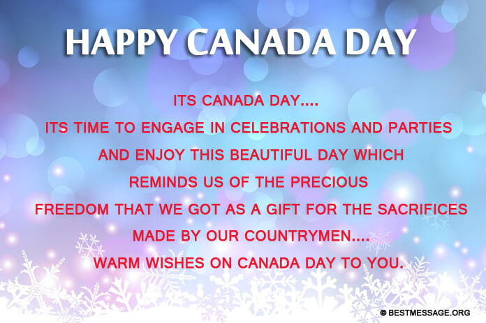 Happy Canada Day Wishes Photo And Image