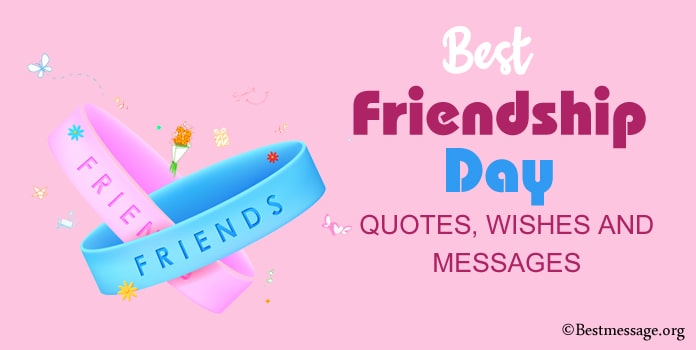 Short Happy Friendship Day Messages and Quotes