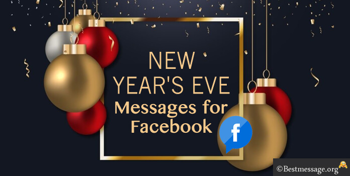 New Years Eve Messages for Facebook