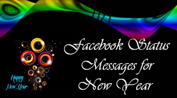 Facebook Status Messages for New Year