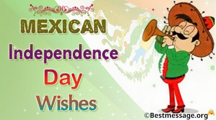 Mexican Independence Day wishes Messages, Greetings Images
