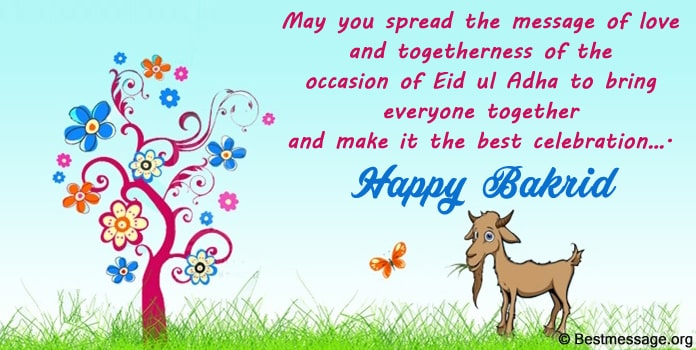 Bakrid Whatsapp Status Messages - Eid-al-Adha Wishes Image