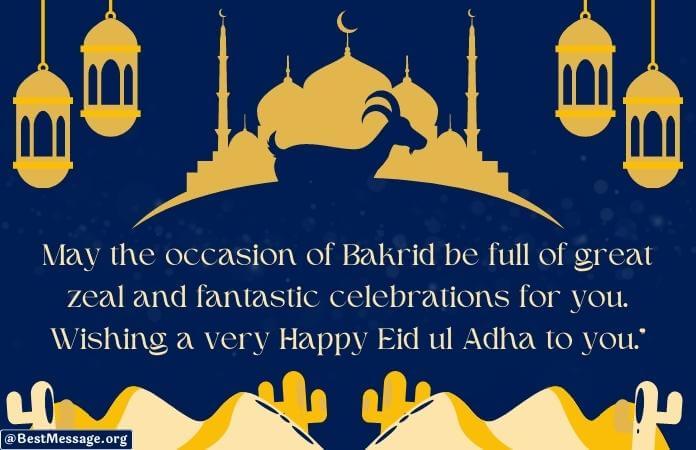 Eid ul Adha Mubarak Wishes, Eid Mubarak Wishes Images