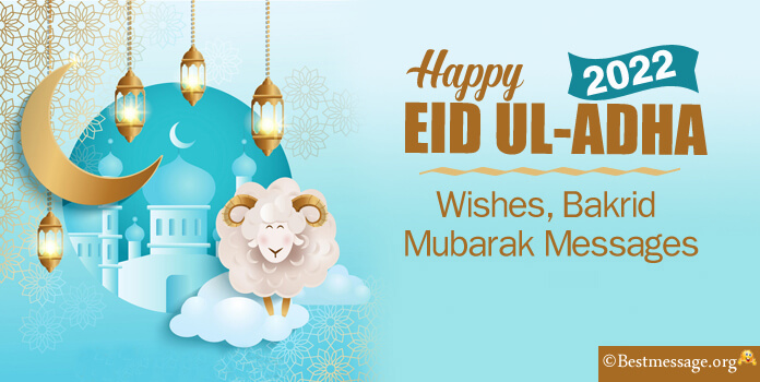 Happy Eid ul Adha Mubarak Wishes, Bakrid Messages Images