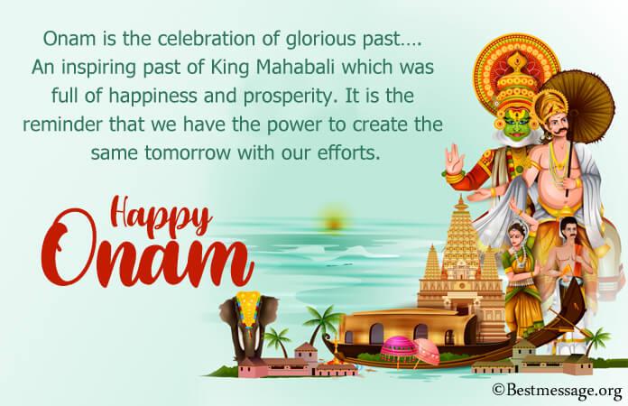 Happy Onam Messages, Onam Festival Wishes Images