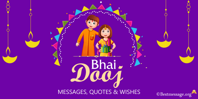 Bhai Dooj Messages, Bhai Dooj Wishes Images