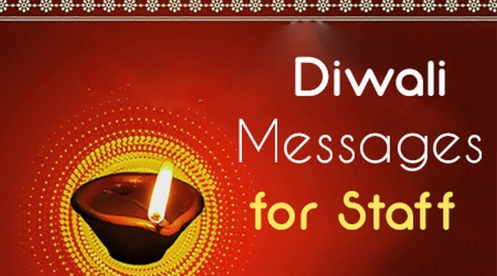 Diwali Messages for Staff