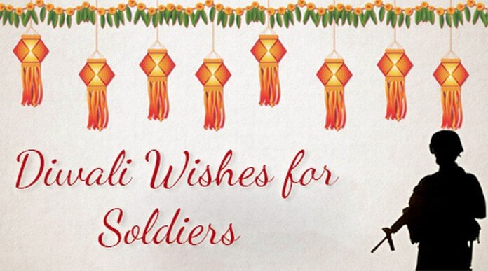 Diwali Wishes for Soldiers
