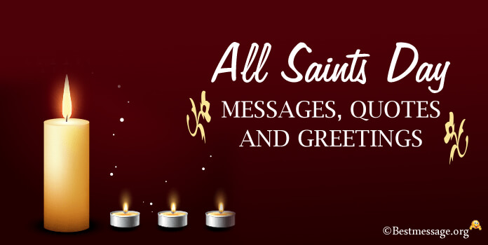 All Saints Day wishes Message