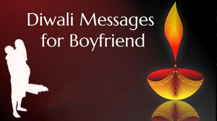 diwali message for my boyfriend
