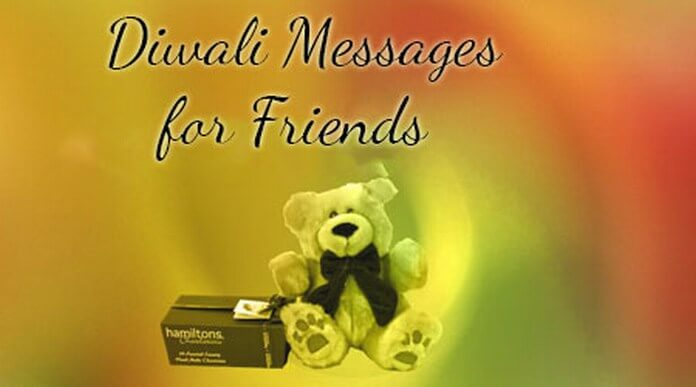 sweet diwali messages for friends