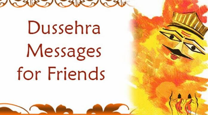 Cute Dussehra Messages for Friends