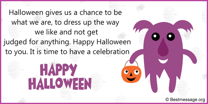 Halloween Greetings Sayings, Halloween Wishes Messages