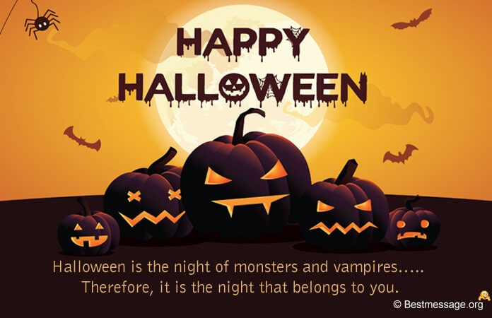 Halloween Greetings Messages Wishes Images, Photos