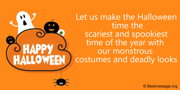 Halloween Greeting Card Messages, Sayings, Quotes Pictures