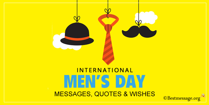 Funny International Men's Day Messages, Wishes Image
